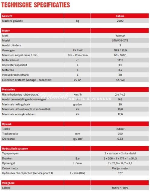 Takeuchi TB240 - Helmink Handel & Verhuur